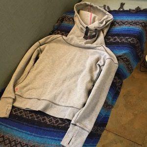 Athleta cowl neck hoodie